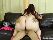 brunette with thick ass