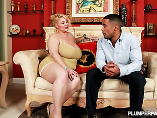 chubby milf pornstar surprises