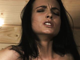 dark hair seductress hot