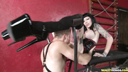 tattooed domme does dirty