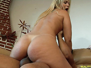 busty blonde black booty