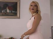 30 yo Blonde Valentina Valenti Boobs