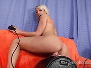 blonde, group sex, toys, vagina