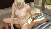 perky tits blonde milf