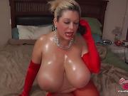 bbw, individual model, masturbating, stockings