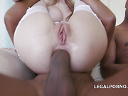 magnetic blonde with big