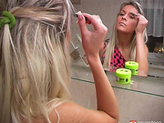 blondes, solo action, teen, toys