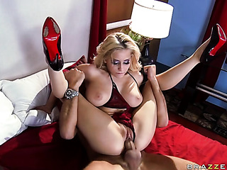 lushes blonde sexy red