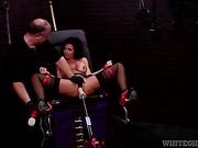 beauty, hardcore, spreading, stockings