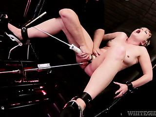 chained the black chair