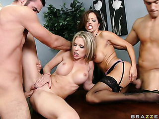 office meeting turned foursome