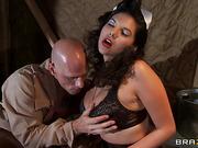 big tits, hardcore, uniform, wife