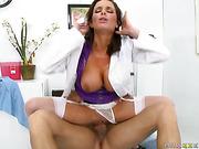 big tits, hardcore, uniform, wet