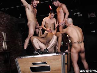 five white guys gang