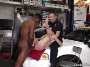 cop, interracial
