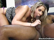 blonde, interracial, pussy