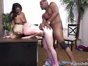 big ass, interracial, punishment, threesome