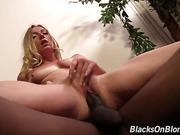 black, blonde, dick, interracial