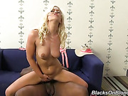 blonde, interracial, nerdy, pussy