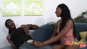 denim shorts ebony stepdaughter