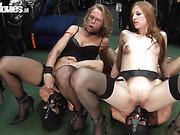 amateur, black, blonde, mom