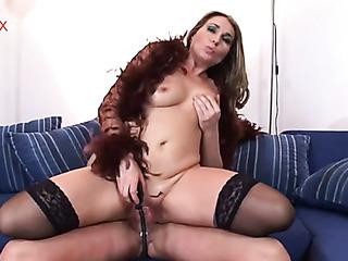 horny whore has dildo