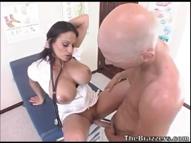 Big Tit Brunette Threesome