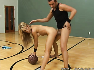 tantalizing blonde grey sports