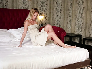 beauty getting the bedroom