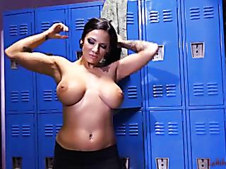 big-breasted milf black dress