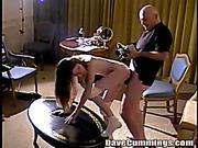 bald mature man fucked