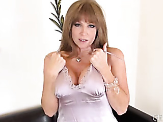 redhead milf with massive