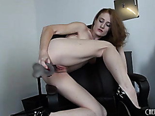 admirable redhead with small