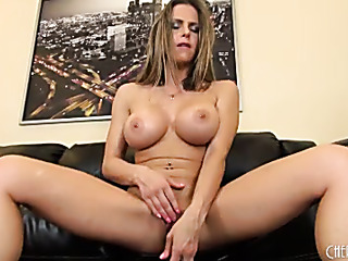 first-class blonde with massive