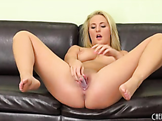 memorable blonde slut sheds