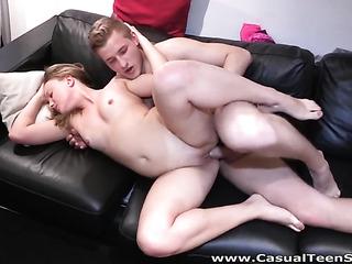 freaky european slut enjoys
