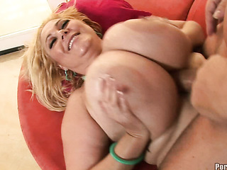 blonde maven with tremendously