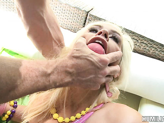 chick choked gagged and