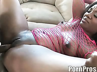earnest ebony pink fishnet