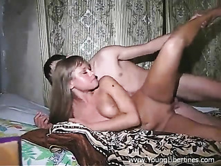 horny young blonde has