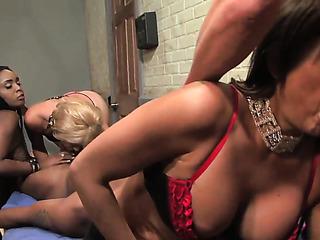 horny bad girls take