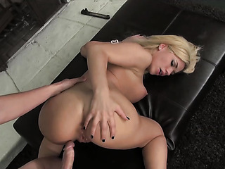 sexy blonde bitch with
