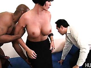 horny wife sucks big