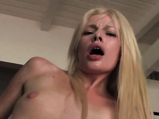 pale blonde slut got