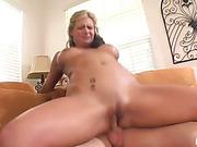 blonde, hardcore, mom, riding