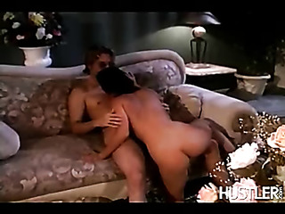 horny blonde plays with