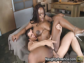 sultry ebony babe got