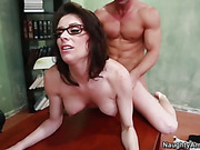 babe, milf, sex on table, teacher