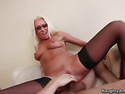 blonde, milf, teacher