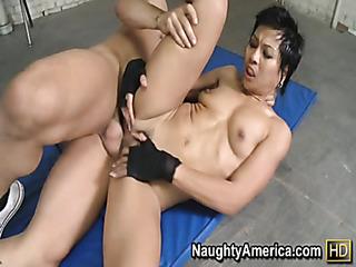 sporty asian pumps cock